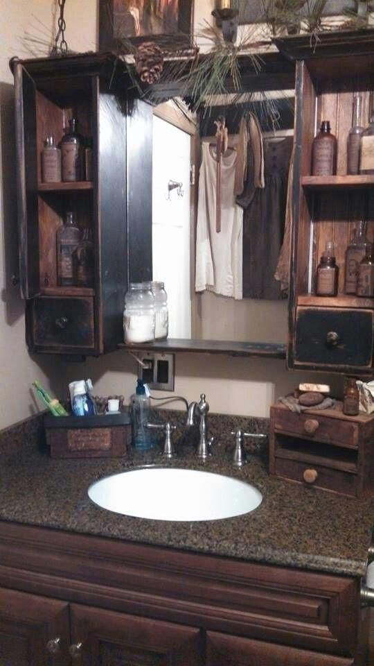 Pics Of Primitive Bathrooms