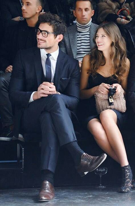David Gandy and Bianca Balti GABRIEL  JULIA!: