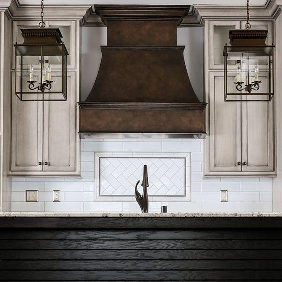 Range hoods ranges and hoods on pinterest for Artsy kitchen ideas