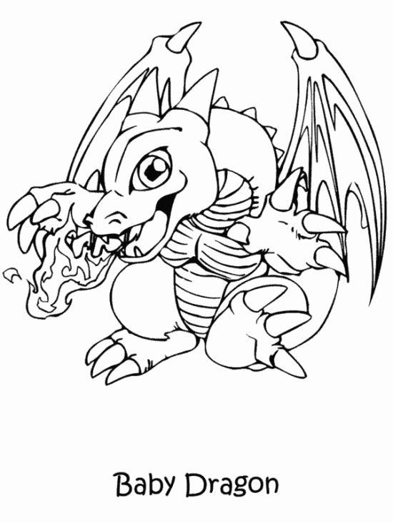 Baby Dragon Coloring Page Inspirational Printable Yugioh Coloring Pages Dragon Coloring Page Unicorn Coloring Pages Owl Coloring Pages