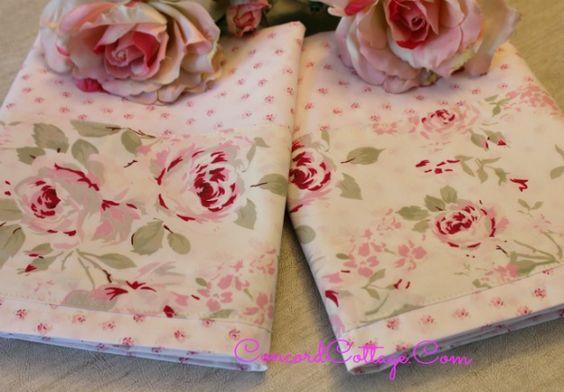 Hometalk :: How to Make & Embellish Pillowcases
