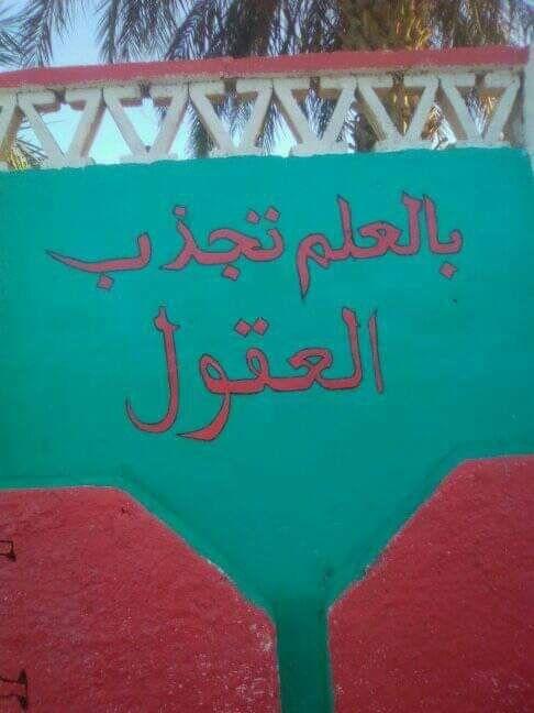 تزين المدارس بالعلم تجذب العقول وبالأخلاق تجذب القلوب مصطفى نور الدين Neon Signs Neon Signs