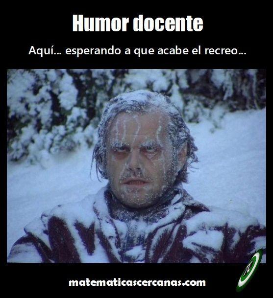 Las Guardias De Patio Con El Temporal De Frio Imagen De Chistes Clima Frio Gracioso Humor Grafico