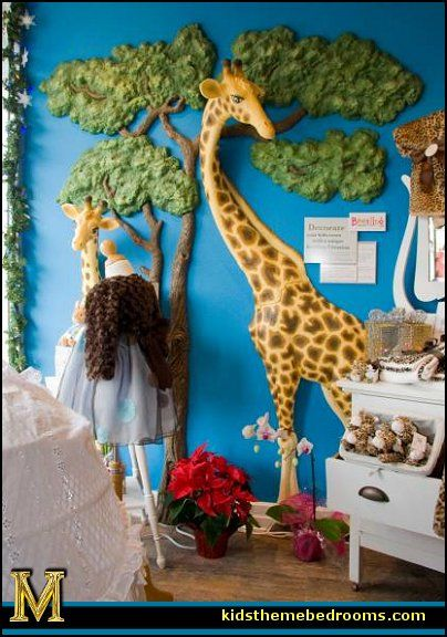 Wall Art Jungle Theme Wall Decor 3d Wall Art Jungle