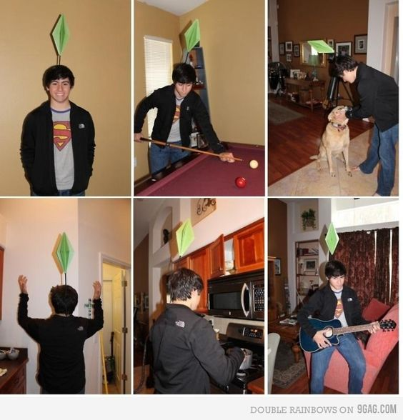 Most awesome Halloween costume!  Super easy too! haha