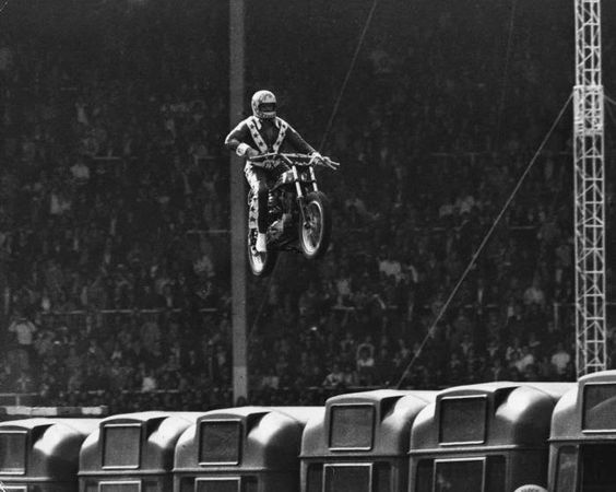 Evel Knievel  Source: By the way...