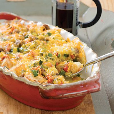 Brunch casserole brunch and casseroles on pinterest for 5 star recipes for dinner