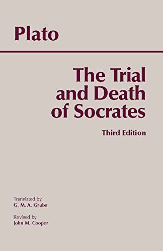 The Trial and Death of Socrates by Plato http://www.amazon.com/dp/0872205541/ref=cm_sw_r_pi_dp_8l01vb0MYS74G