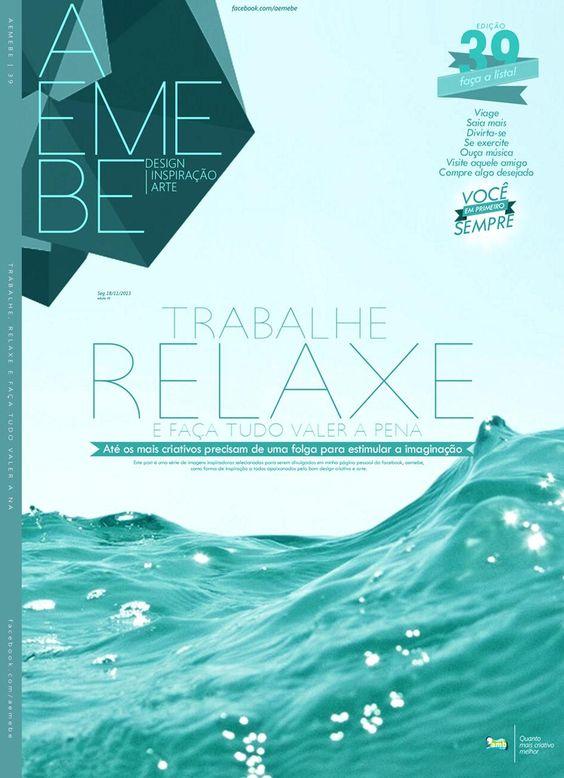 AEMEBE design . inspiração . arte  edição 39 facebook.com/aemebe