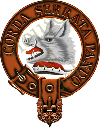 Clan Lockhart Family Crest/Coat of Arms. by, Andrew McNaughton ...