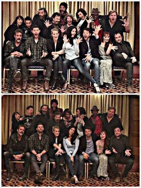 John, Dean, Mary, Abaddon, Castiel, Rowena, Crowley 2nd - ?, ? Cain, Metatron?, ? ?, ?, ?, 3rd - Sam