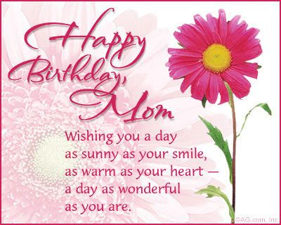 Best Birthday Messages For Mother