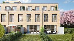 Das Neubauprojekt THERESIENGÄRTEN der DORNIEDEN Generalbau GmbH bietet Ihnen die Stadthäuser mit Wohnflächen von ca. 120 m² bis ca. 152 m² und 4 bis 5 Zimmern hohe Wohnqualität.
