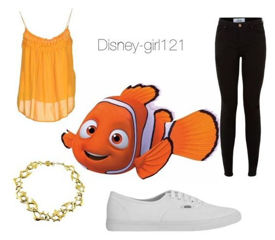 """Nemo"" by disney-girl121 ❤ liked on Polyvore featuring Plein Sud, Yves Saint Laurent, Vans, women's clothing, women's fashion, women, female, woman, misses and juniors"