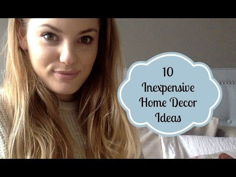 10 inexpensive home decor ideas |