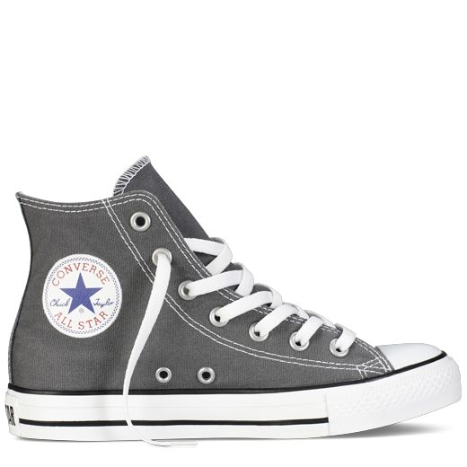 Charcoal High Top Chuck Taylor Shoes : Converse Shoes   Converse.com