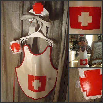 Costume d'infirmière home-made !