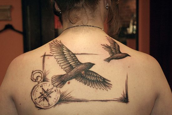 Resultado de imagem para tattoo bird