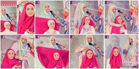 tutorial hijab segi empat ala dian pelangi tutorial hijab pinterest beautiful hijab and fashion