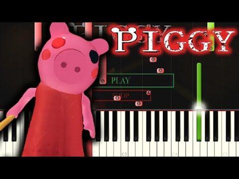 Piggy Roblox Menu Theme Youtube Roblox Piggy Theme