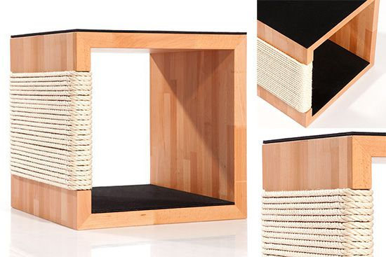 Beautiful designer cat furniture from germany furniture storage cubes and cubes - Designer cat scratcher ...