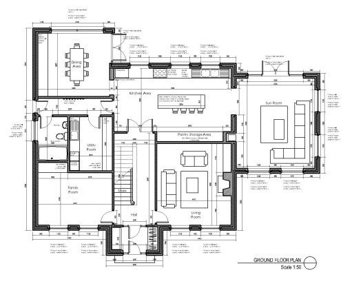 House Plan Layout | House Layout Design Oranmore Galway Project Gallery Walk Closet