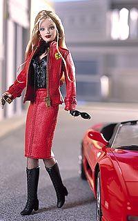 2001 ferrari barbie