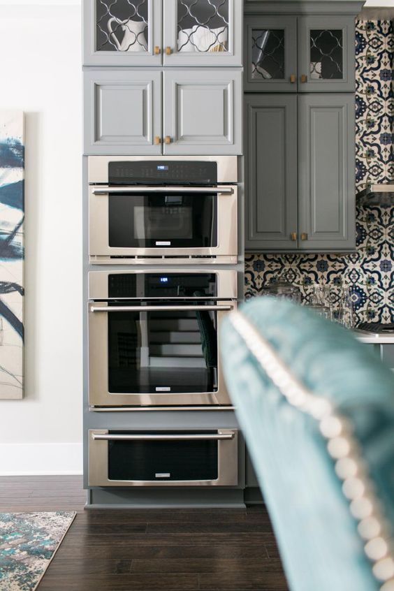 Kitchen pictures from hgtv smart home 2016 smart home for High end wall ovens