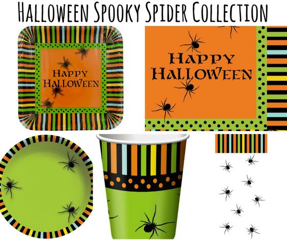 Halloween Spooky Spiders Party
