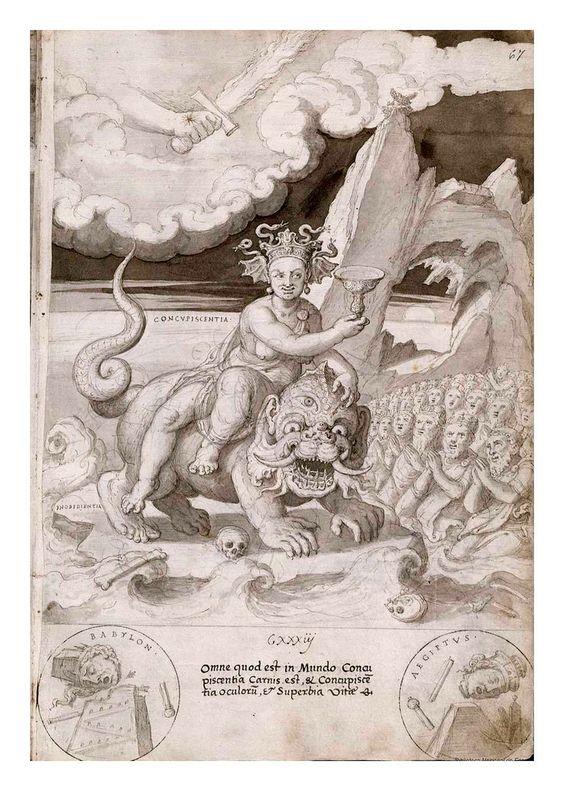 019- La concuspicecencia-De Aetatibus Mundi Imagines