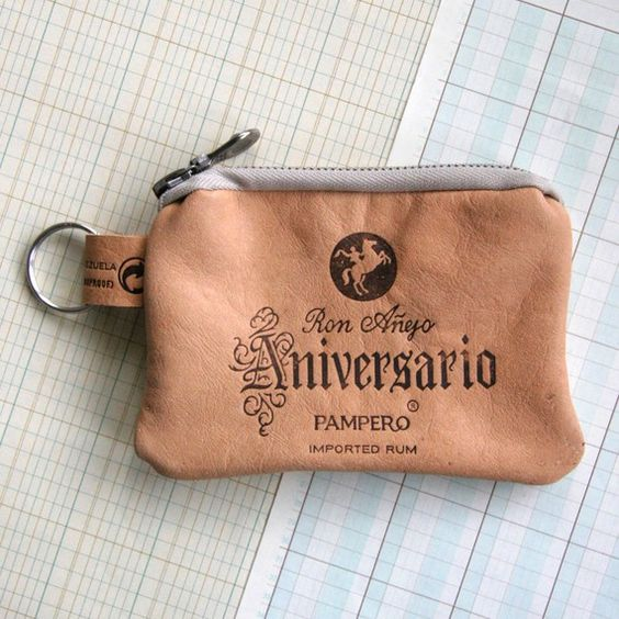 Pampero Zip Wallet - Recycled Leather