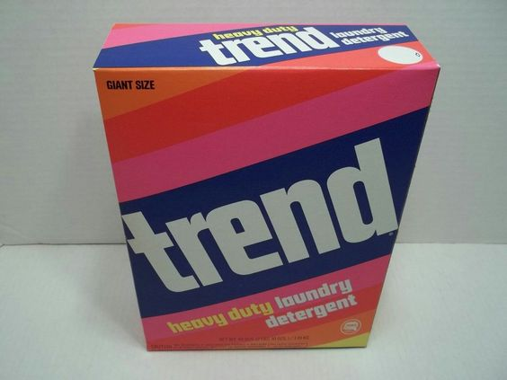 Purex S Trend Laundry Detergent 80s Box I M Guessing Laundry