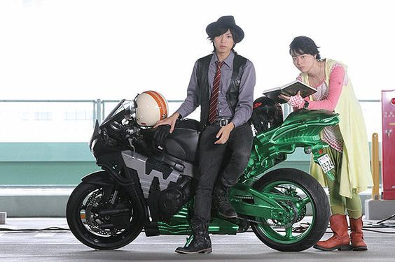 仮面ライダーWバイク