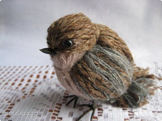 Passerotto di lana semplice semplice: