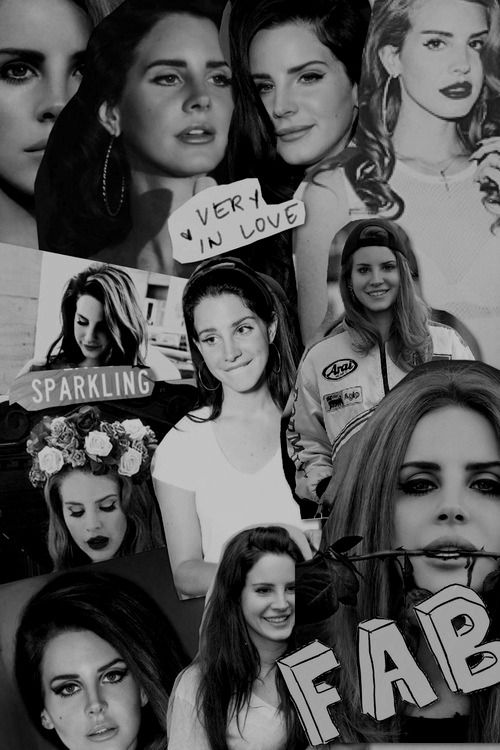 Lana Del Rey #LDR #collage: