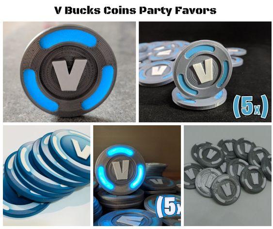 Fortnite VBucks Coins Party Favors