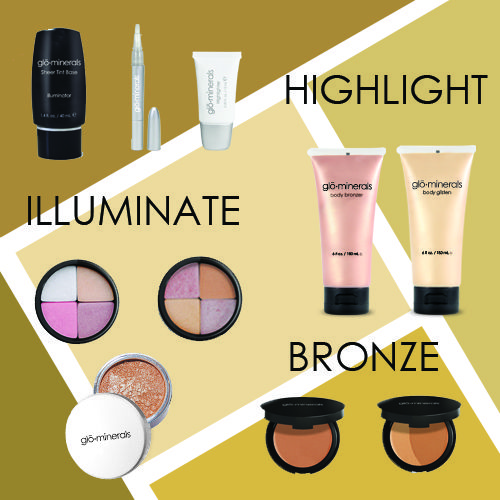 Learn about our Bronzing, Highlighting, and Illuminating products!
