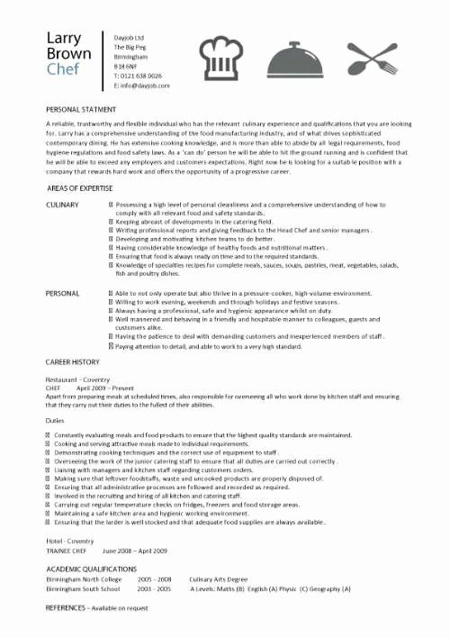 Kitchen Manager Job Description Resume Awesome Chef Resume Sample Examples Sous Chef Jobs Free Template Chefs Chef Resume Chef Job Description Job Description