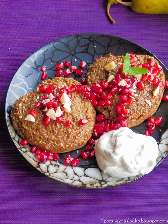 Sweet treat for Valentine's Day: healthy barley hearts with chocolate filling!: