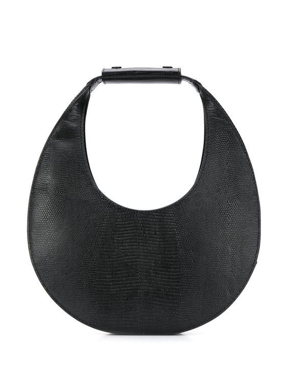 Staud moon-shaped tote bag - Black