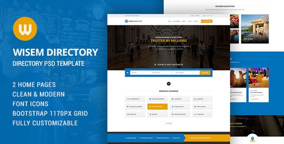 Download Free              Wisem - Directory HTML            #               directory #hotel #listing #map #property #rental #restaurant #travel