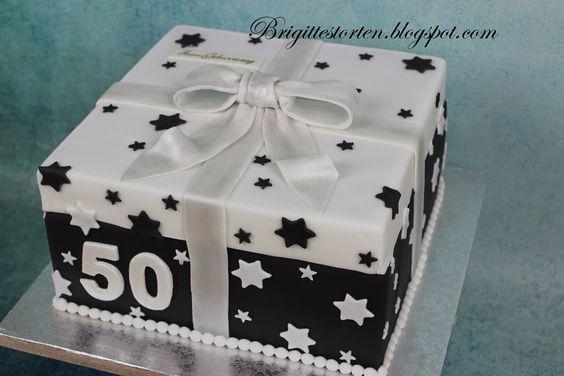 geschenkbox torte in schwarz wei mit sterne schwarz wei pinterest torte. Black Bedroom Furniture Sets. Home Design Ideas