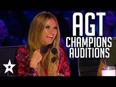 The Champions On America S Got Talent 2019 Auditions Week 2