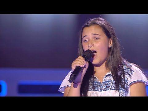 Rocío Sola Audiciones A Ciegas La Voz Kids 2017 Youtube La Voz Kids La Voz Telecinco Es