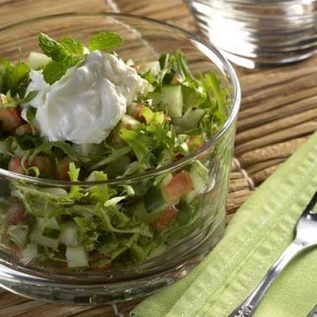Salada com Coalhada
