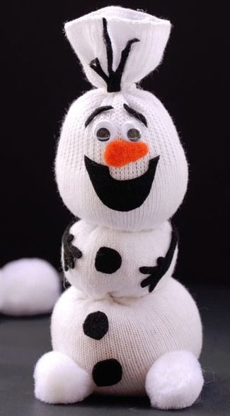 http://onecreativemommy.com/olaf-sock-snowman-tutorial/