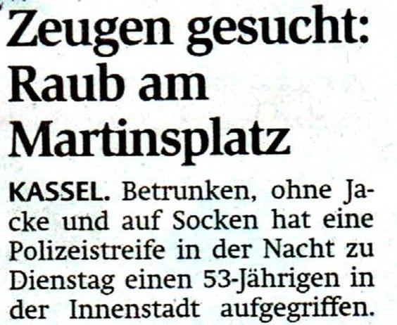 17 Meldungen, die Du nur in deutschen Zeitungen findest