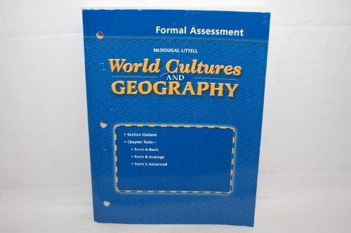NEW) McDougal Littell World Cultures \ Geography Formal - formal assessment