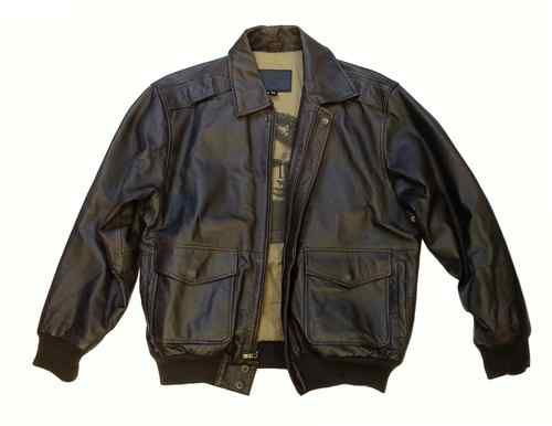 Men&39s Brown Leather Bomber Jacket - The Original James Dean