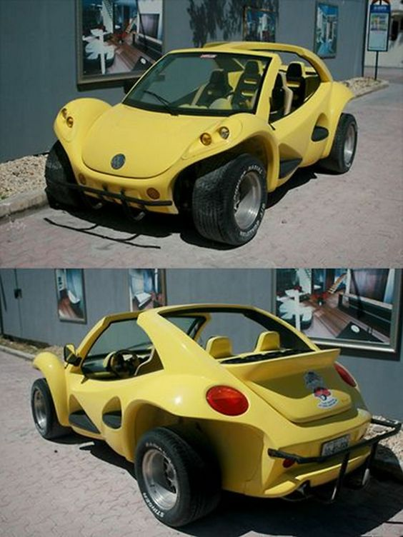 Cute little car, and who knew you could convert a new beetle to a baja?